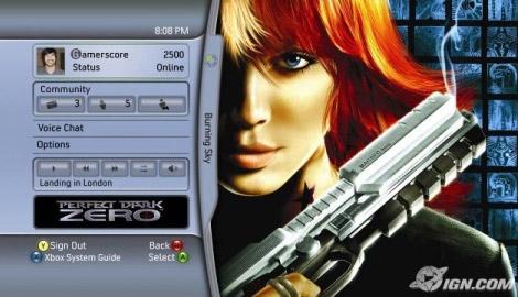 Xbox's 2005 Dashboard